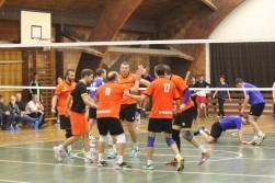 SK Dansport Praha - VK Karlovarsko B 3:0, 0:3