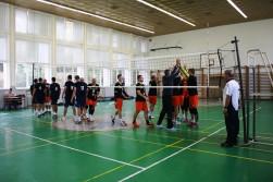 B-tým: Volejbal Modřany - VK Karlovarsko B 2:3 a 3:2