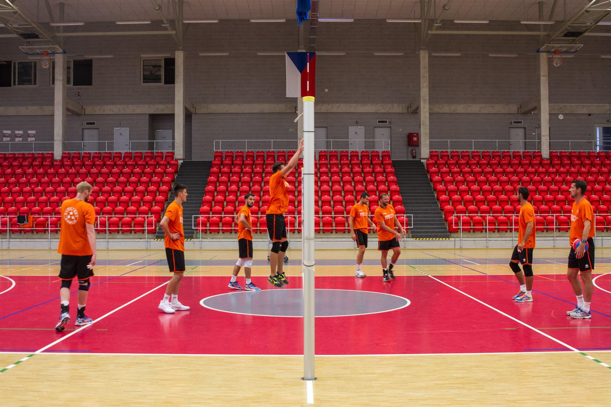 Foto: Volejbalisté zahájili přípravu a zvou fanoušky i na mezinárodní zápasy