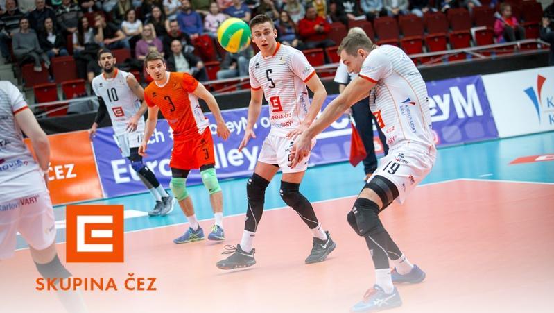 Foto: Reprezentovali jsme důstojně, hodnotí Ligu mistrů šéf volejbalového Karlovarska