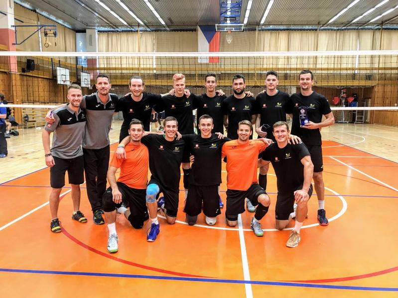 Foto: Rozdělení rolí v týmu, to je úkol volejbalistů pro domácí turnaj