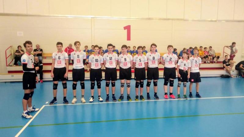 Žáci se představili na turnaji v Č. Budějovicích, stihli i finále extraligy
