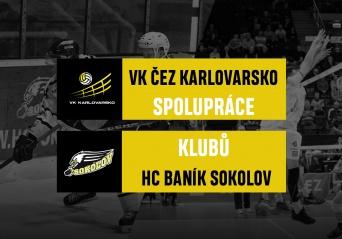 Navázání spolupráce s HC Baník Sokolov