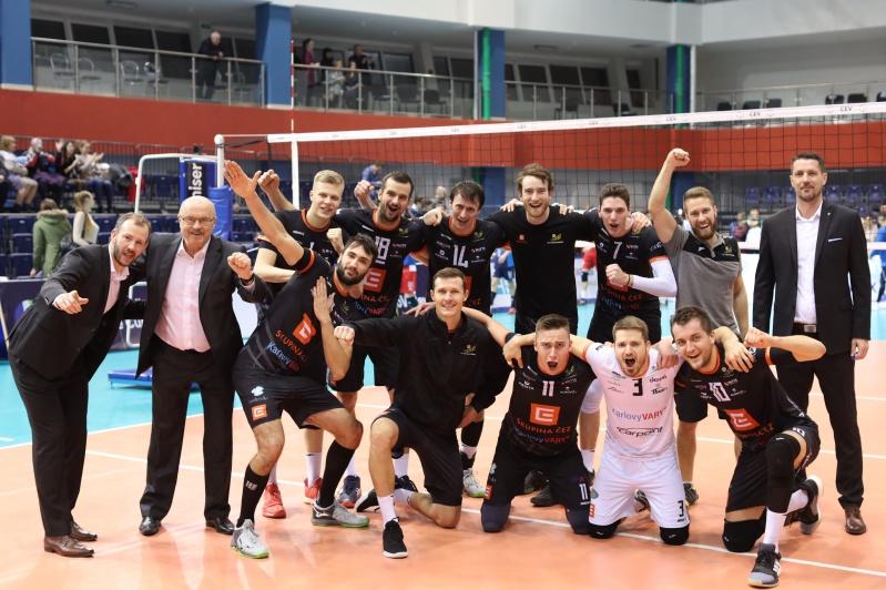 Foto: Čtvrtfinálová výzva. Karlovarsko bojuje v pohárové Evropě