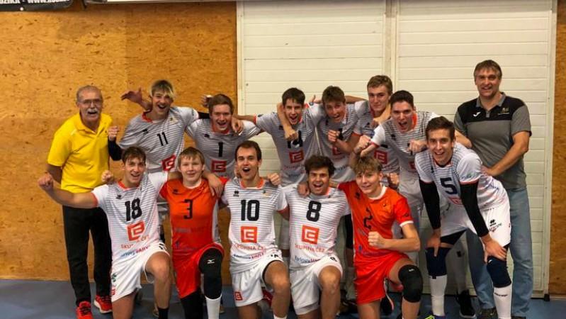 První turnaj Extraligy juniorů v Příbrami.