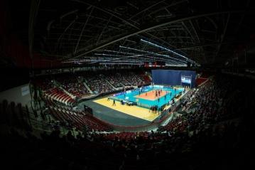Volejbalová Liga mistrů v Karlových Varech