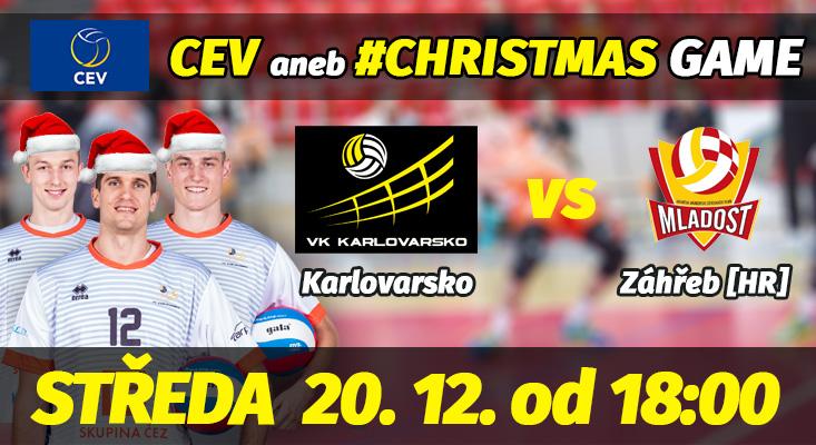 Cev Challenge Cup: VK ČEZ Karlovarsko - HAOK Mladost Záhřeb