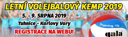 Letní volejbalový kemp 2019