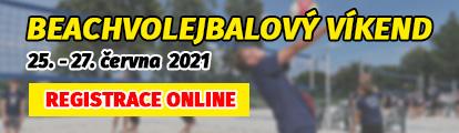 Beachvolejbalový víkend 2021!