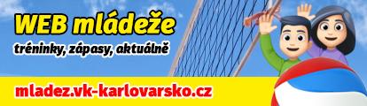Mládež VK ČEZ Karlovarsko - tréninky, zápasy, aktuálně